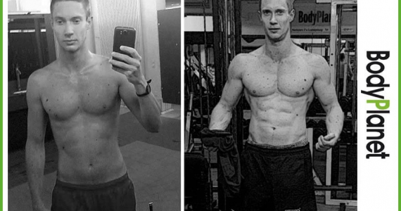 Body Transformations Männer